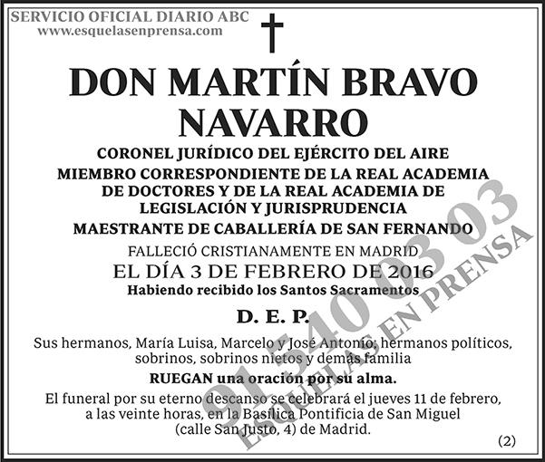 Martín Bravo Navarro